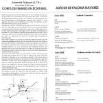 UniversidadToulouse_CorpsDeFemmesEnEcritures_2006