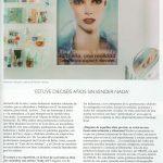 """Artículo """"Engañosa fragilidad"""" sobre el trabajo de la artista Paloma Navares publicado en la revista Tendencias del Mercado del Arte"""