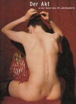 """Portada catálogo """"Der Akt in der Kunst des 20. Jahrhundert"""""""