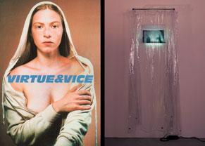 """Portada catálogo """"Virtue&Vice"""""""
