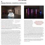 """Artículo en El Cultural de El Mundo """"Paloma Navares cosmética y melancolía"""" de Jose Maria Parreno sobre la exposición """"El vuelo 1978-2018"""" en el MUSAC"""